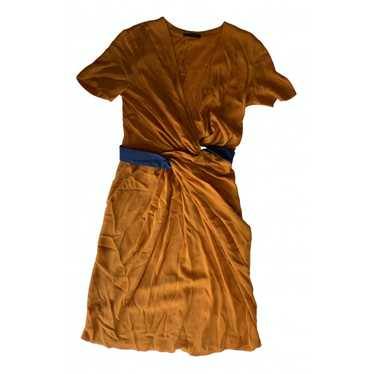 Vionnet Orange Silk dress for Women 42 FR