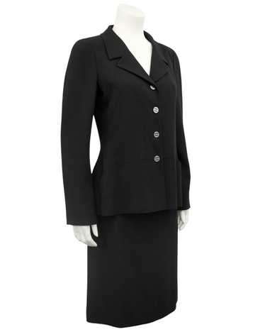 Chanel Black Skirt Suit