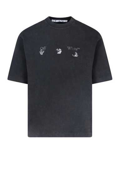 Off-White Off-White Hands Off Distressed T-Shirt