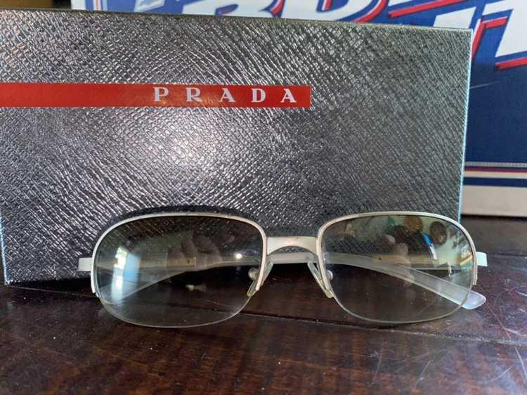 Prada × Vintage Vintage 1990's Prada sunglasses - image 1