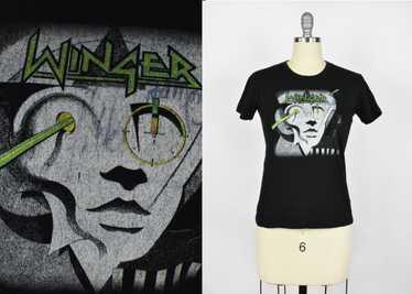 Vintage Winger T-Shirt with Kip Winger's Autograph