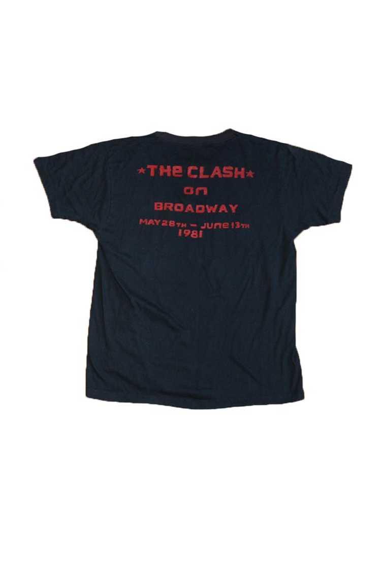 Vintage 80's The Clash Sandinista Tour T-Shirt - image 2