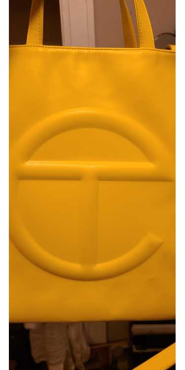 Telfar Large Yellow Telfar Shopping Bag