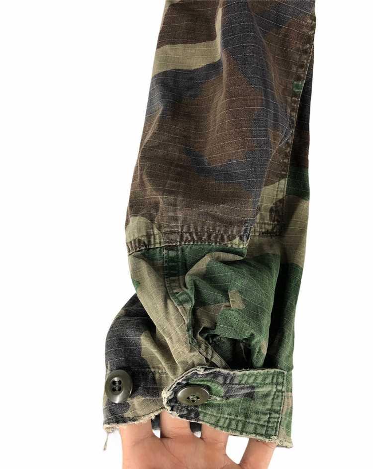 Camo × Military Vintage Military Camo Jacket - image 7