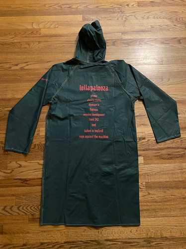Vintage 1993 Lollapalooza Rain Coat Tool Primus Al