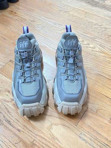 Eytys Eytys Grey Halo Sneakers with Reflective Pan