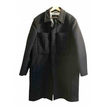 Raf Simons Brown Wool coat for Men 48 IT