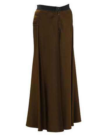 Jean Paul Gaultier Brown Maxi Skirt