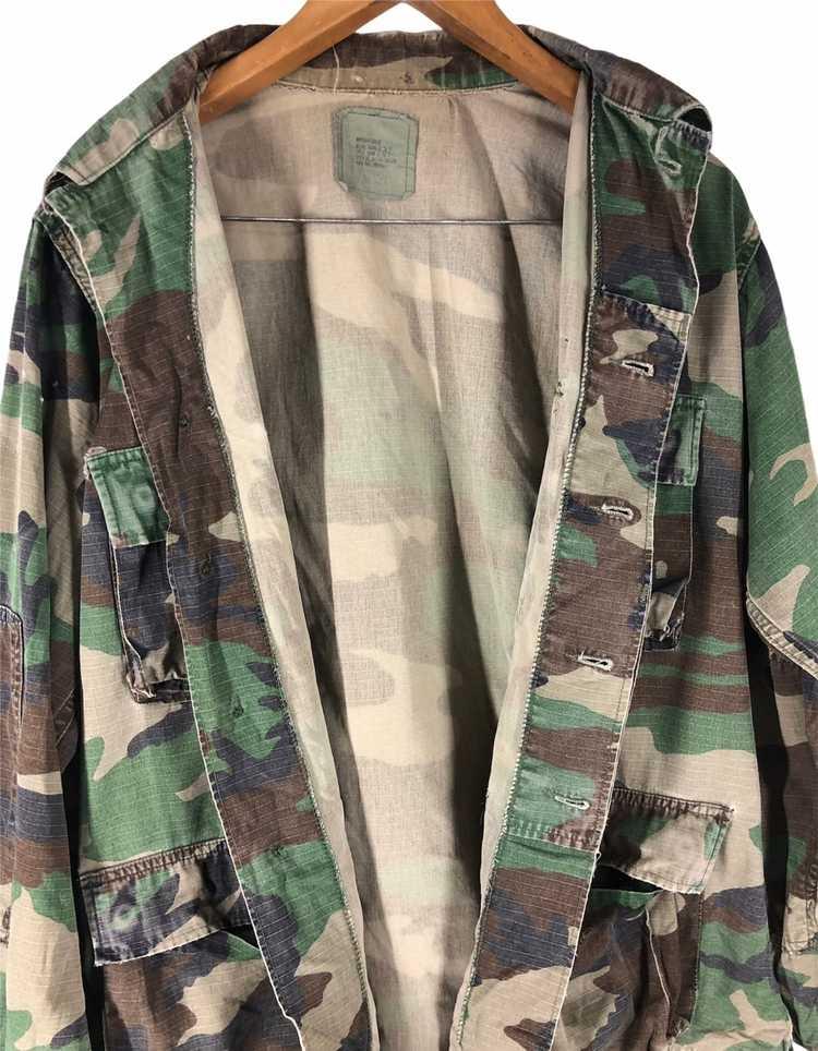 Camo × Military Vintage Military Camo Jacket - image 6