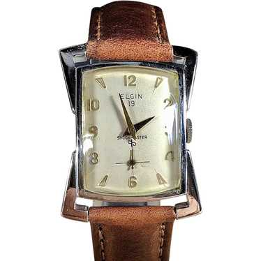 1958 Elgin Asymmetrical Watch