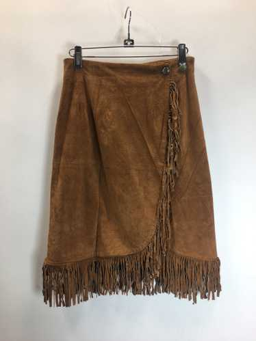 90's Suede Skirt