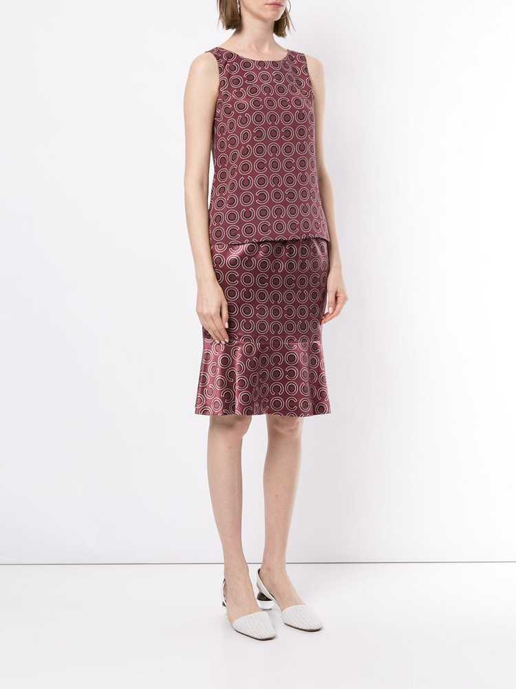 Chanel Pre-Owned 2001 geometric print two-piece s… - image 3