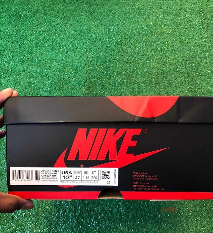 Jordan Brand × Nike Jordan 1 Zoom High Racer Blue - image 3