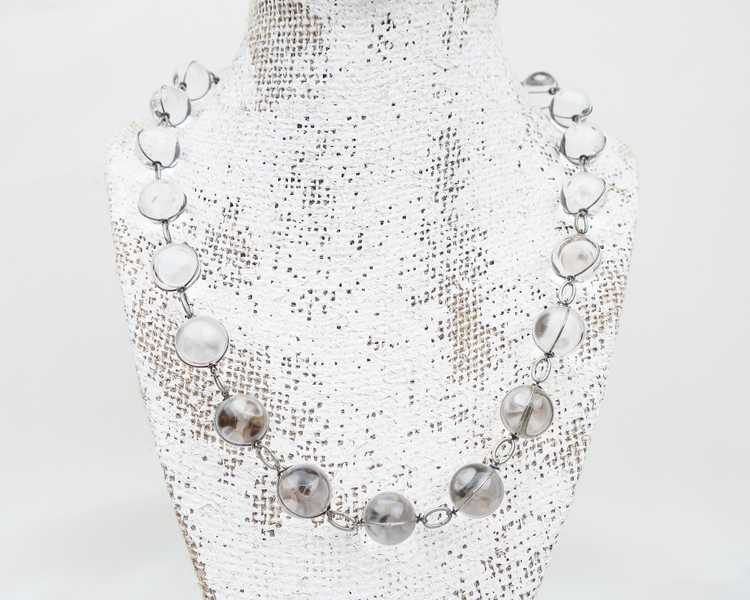 Art Deco Pools of Light Necklace - image 2