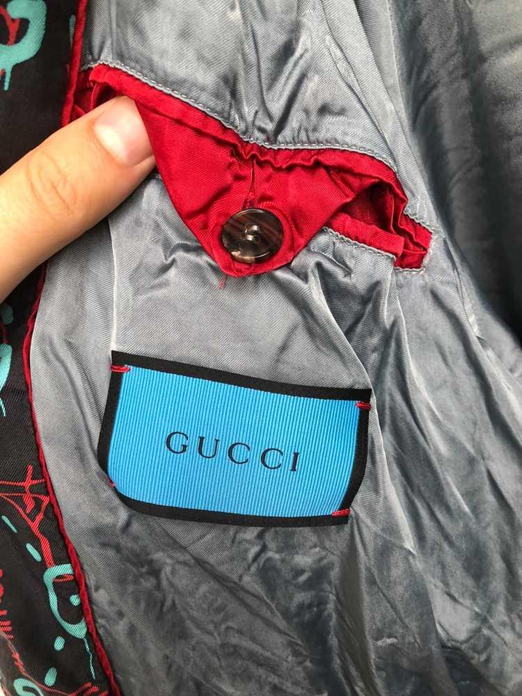 Gucci Gucci Ghost Silk Bomber - image 24