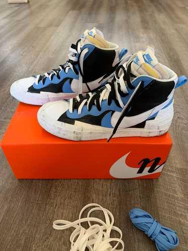 Nike × Sacai Sacai x Blazer Mid Black Blue 2019
