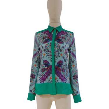 Versace Versace silk multicoloured shirt