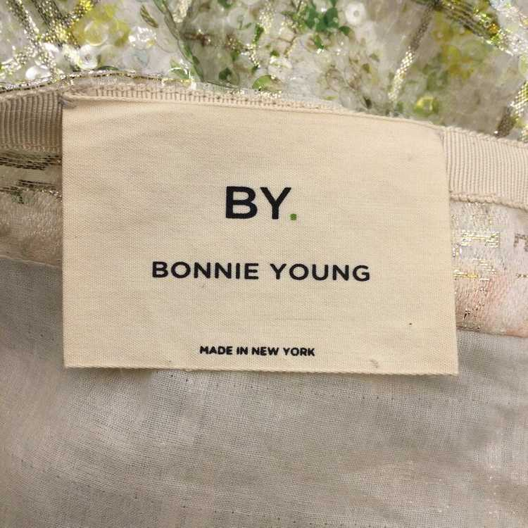 BY. Bonnie Young Green Sequined Sleeveless Formal… - image 6