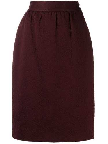Emanuel Ungaro Pre-Owned '1980s pencil skirt - Red