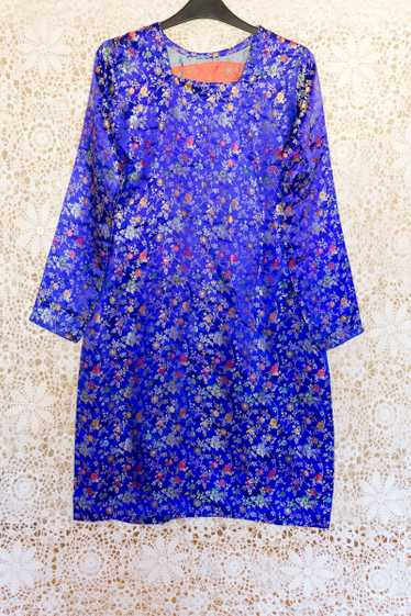 Embroidered Oriental Dress - image 1