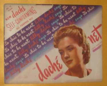 Envelope Only - Vtg Lilly Dache Hairnet