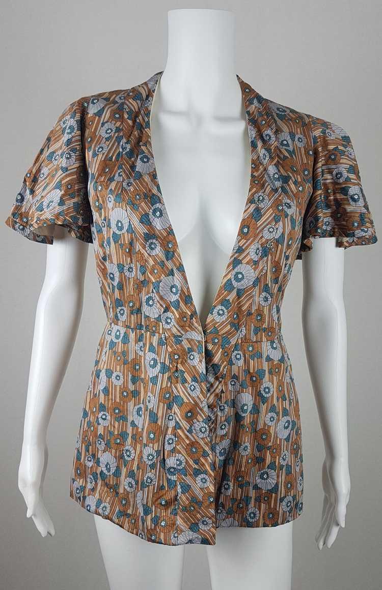 Vintage Vogue Couturier Design Circular Cape/Batw… - image 2