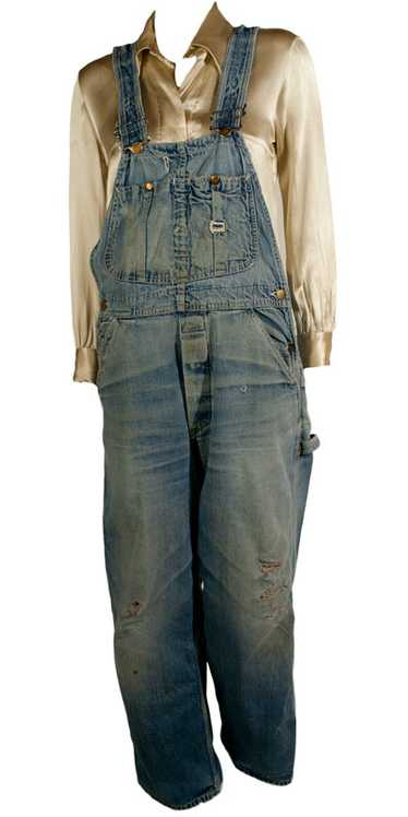 1960s Lee Jelt Denim Baggy Overalls