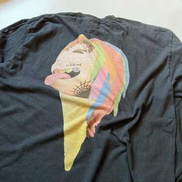 M Hot Item!! Retro Rap Tees Hip Hop Streetwear Swag Dope Hype Airwalk Stripes Medium Logo Sweater Jacket Camouflage