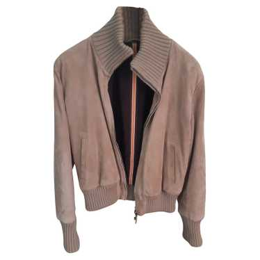 Fratelli Rossetti Top Suede in Taupe