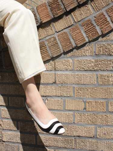 Perry Ellis Black & White Shoes (8)