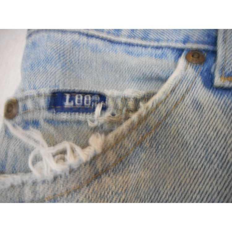 Lee Vintage Lee Jeans flat front denim jeans 1980… - image 2