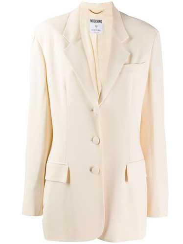 Moschino Pre-Owned 1990's tailored blazer - Neutra