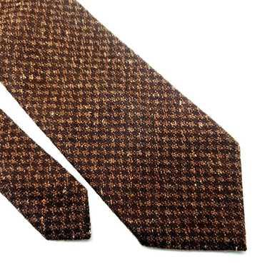 Joseph Abboud Joseph Abboud Wool Silk Tie Brown Ch