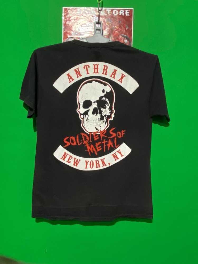 Band Tees × Rock Tees × Vintage Vintage Anthrax b… - image 6