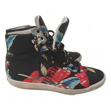 Dirk Bikkembergs Multicolour Cloth Trainers for Wo