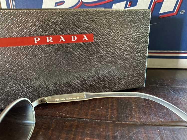 Prada × Vintage Vintage 1990's Prada sunglasses - image 5