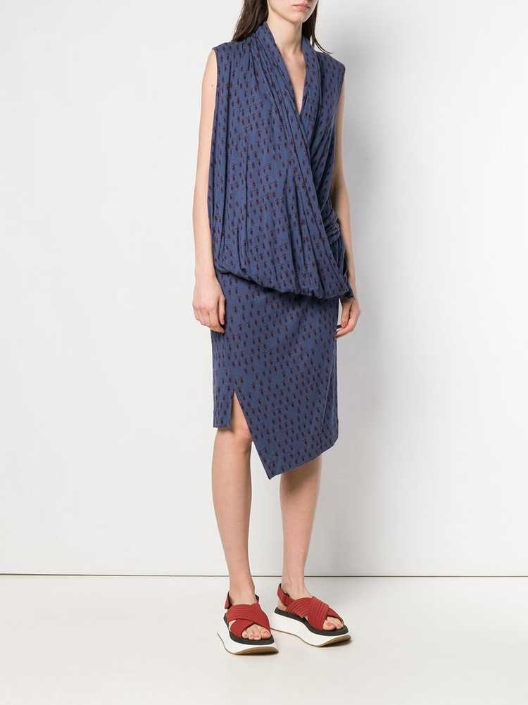 Vivienne Westwood Pre-Owned knitted wrap-front dr… - image 3