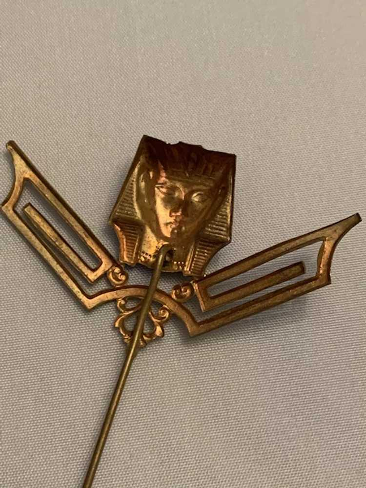 Egyptian Revival Hat Pin - image 5