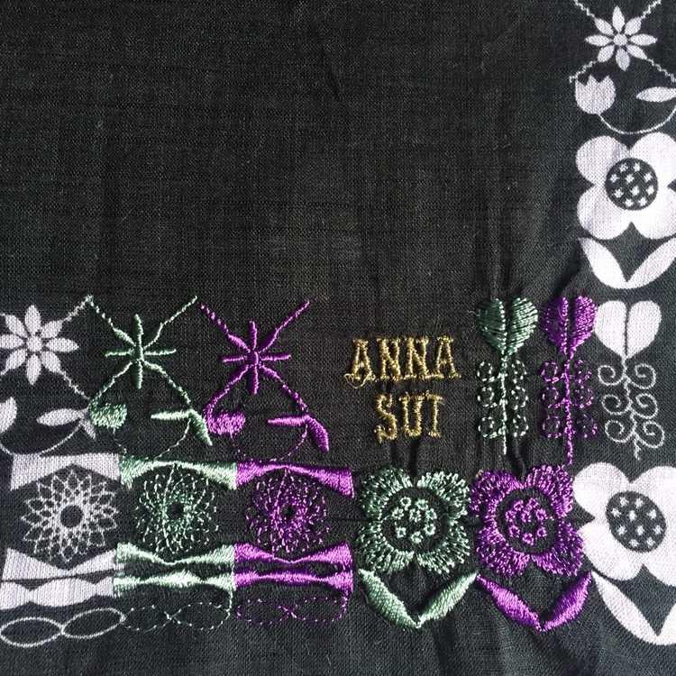 Anna Sui × Luxury × Vintage Anna Sui Bandana hand… - image 2