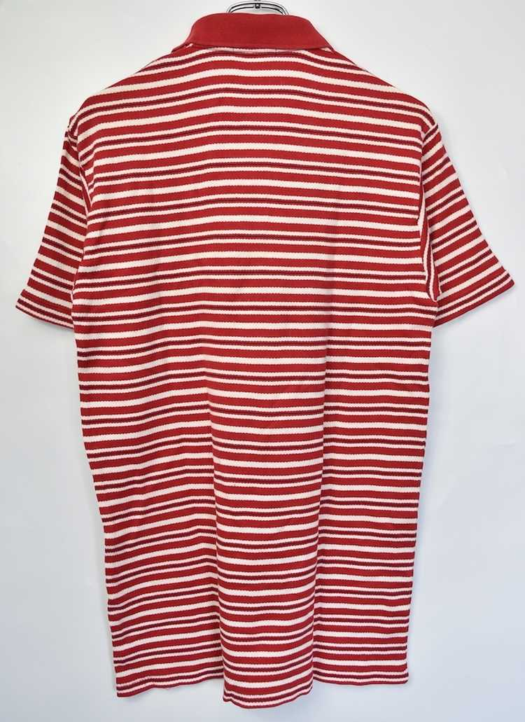 Issey Miyake ISSEY MIYAKE 90s old stripe polo shi… - image 3