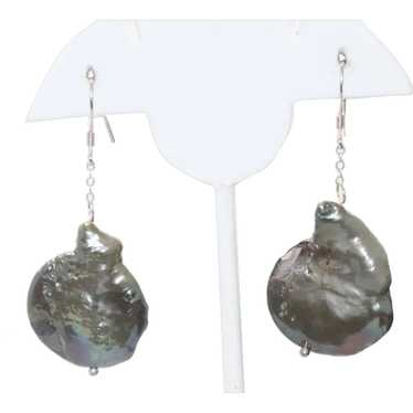 Costume Baroque Pearl Earrings