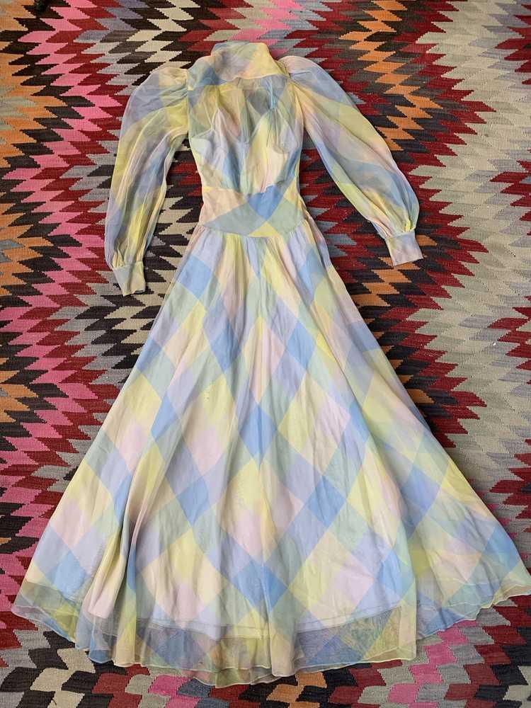 RARE 1940s Ceil Chapman Gown - image 17