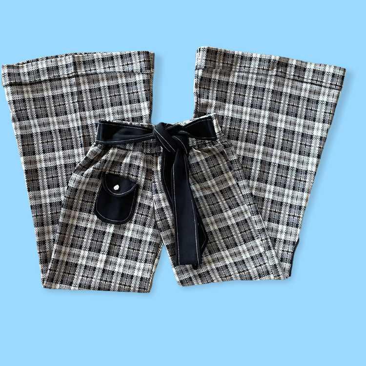 60's/70's Straight Leg Bell Bottoms - image 2