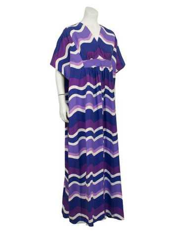 Purple Bohemian Kaftan
