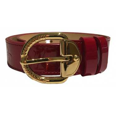Louis Vuitton Red Patent leather belt for Women M