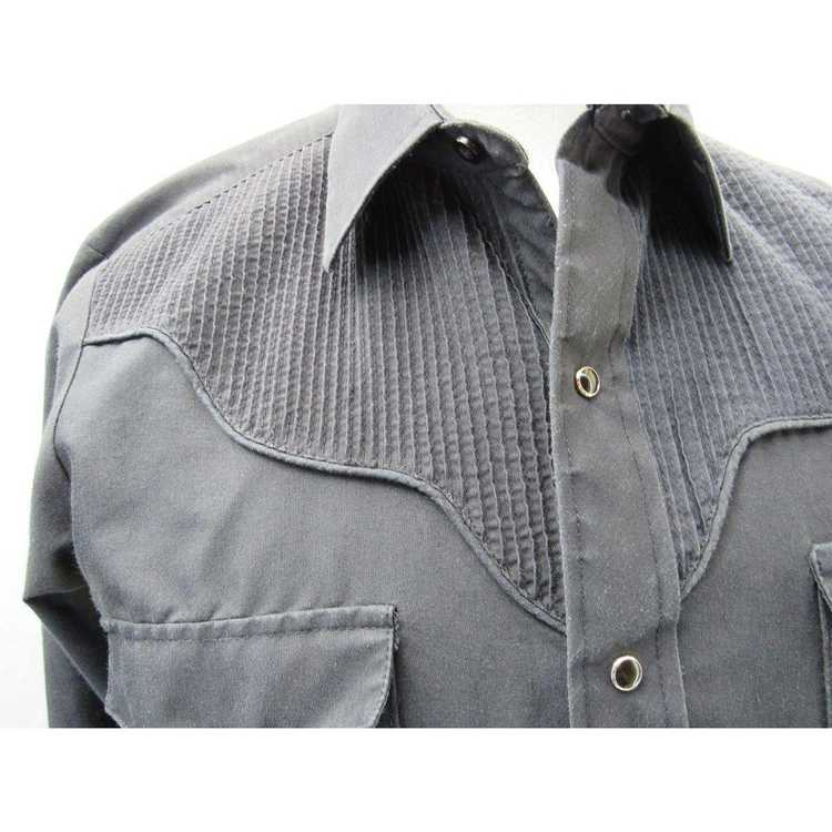 Other Kenny Rogers M Black Long Sleeve Western Sh… - image 3