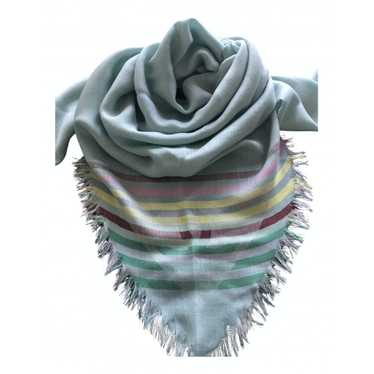 Chanel Blue Cashmere scarf for Women