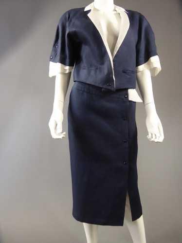 Claude Montana Skirt Suit