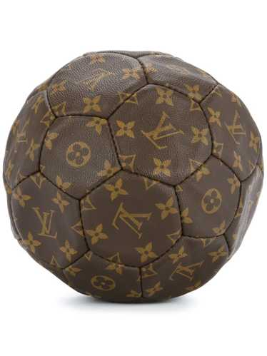 Louis Vuitton monogram soccer ball - Brown