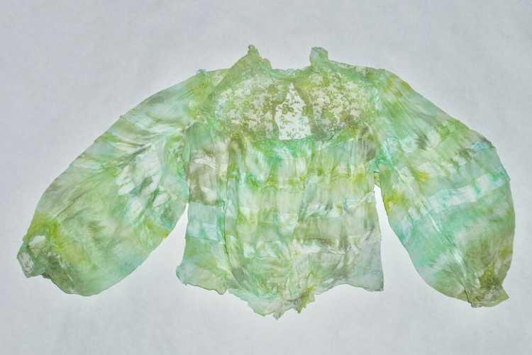 Algae Antique Victorian Blouse - image 2